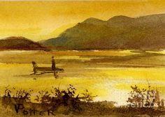 The Golden Hour  Sold on Fine Art America
