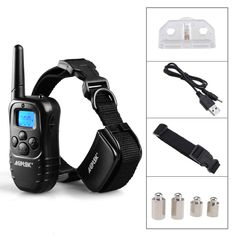 300 Yard Rechargeable LCD 100LV Level Shock Vibra Remote Pet Dog Training Collar Product Description You can see the video to know how to use it Note: the receiver & collar can be recharged 100 levels of vibration. 100 levels of static . The levels can be altered by use of up & down button. The Collar length can be adjustable from 12 inches to 22 inches If you hear noise from […]