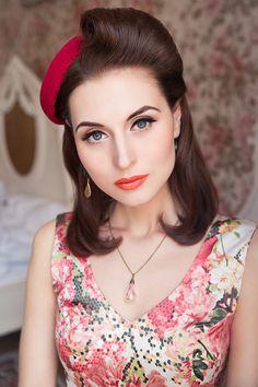 """MadamLili"" - Summercollection for Jewellery 2013 - by Wanda Badwal Photography #50er#jewellery#fashion#romantic#model#beauty"