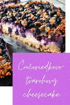 Ak si počas sezóny stihneš zamraziť čučoriedky, potom si tento božský cheesecake môžeš dopriať aj v zime. Cheesecake, Fit, Recipes, Cheesecake Cake, Cheesecakes, Rezepte, Cheesecake Bars, Recipe