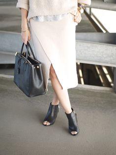 The Wool Wrap Skirt