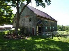 Francestown, NH: Pastoral 165 acres Certified Organic Farmlands with Circa 1815 Distinctive, Elegant Brick End Home