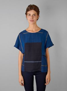 Couverture and The Garbstore - Womens - Ace & Jig - Muse top