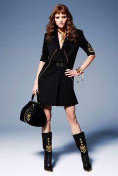 mila krasnoiarova for versace pre-fall 2013 | visual optimism; fashion editorials, shows, campaigns & more!