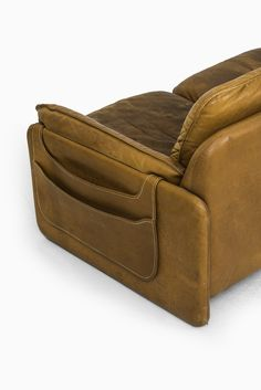 Sofa In Cognac Brown Leather By De Sede At Studio Schalling