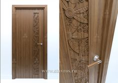Decorating ideas for living room front doors model apartment interior design supply carved door entry and Wooden Glass Door, Wooden Door Design, Modern Wooden Doors, Modern Door, Door Design Interior, Main Door Design, Flush Doors, Classic Doors, Entrance Doors