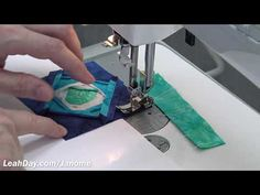 (149) How to Piece on the Janome 1600 Home Sewing Machine - YouTube Quilt Tutorials, Design Tutorials, Quilting Projects, Quilting Designs, Juki, Janome, Free Motion Quilting, Make It Work, Machine Quilting