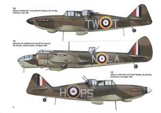 Defiant & Blenheim Ww2 Aircraft, Military Aircraft, Plane Design, Battle Of Britain, World War Two, Wwii, Airplane, Fighter Jets, Pilot