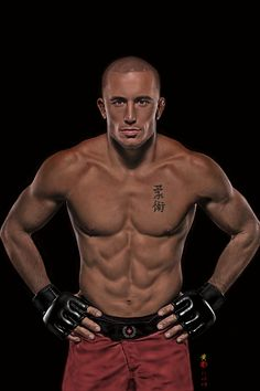 georges st pierre i hate him but i love him