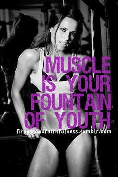 Building muscle= active metabolism!