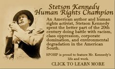 Many more people should know more of Stetson Kennedy and his life.