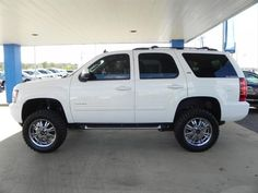 2011 Chevy Tahoe with Lift Kit