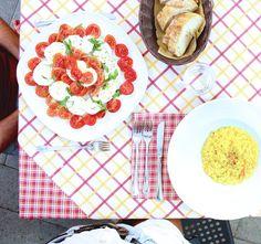 #Risotto alla curcuma gamberi e lime  #caprese   Buon Appetito #amalficoast #positano #italia #southitaly