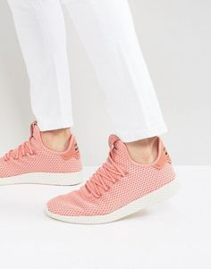 f5c7befe3 ADIDAS ORIGINALS X PHARRELL WILLIAMS TENNIS HU SNEAKERS IN PINK BY8715 -  PINK.  adidasoriginals