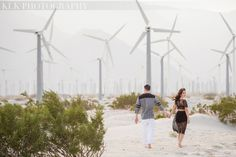 KLK PHOTOGRAPHY - Palm Springs Engagement Shoot, ace hotel, palm springs wind farm, destination wedding, celebrity wedding photographer, palm springs wedding