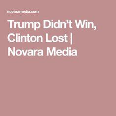 Trump Didn't Win, Clinton Lost | Novara Media