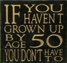 Love this!  I'll never grow up