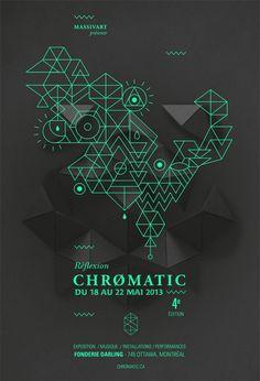 FESTIVAL CHROMATIC 2013 - La campagne graphique by Emilie Thibaut
