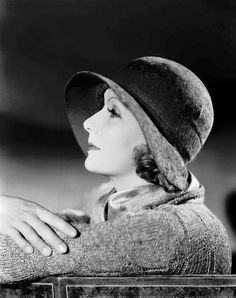 Greta Garbo..I have always loved her since I was in elementary school.  I remember watching her movies (some were silent) on Channel 61.