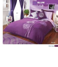 Purple Bedroom Ideas: for my daughter's room