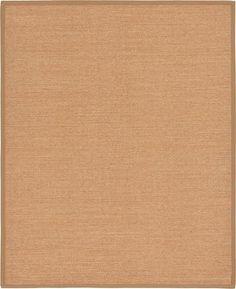 Light Brown Sisal Area Rug