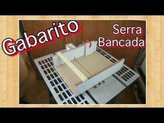 Gabarito para corte transversal - Serra circular de bancada - YouTube