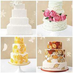 Seasonal Wedding Cakes
