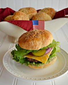 Homemade Hamburger Buns   Difficulty: Easy   Rating: 4 Stars (Too Hard)