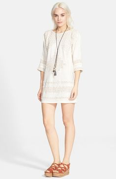Free+People+'Desert+Song'+Shift+Dress+available+at+#Nordstrom