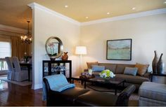 For north facing room -- BM Delaware Putty – CC-240 adds warmth to a room.