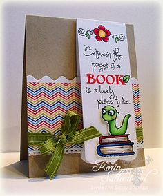 Sweet 'n Sassy Stamps Bookmark Bits & Pieces