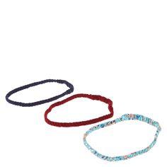 Multi Set Braided Stretch Headbands