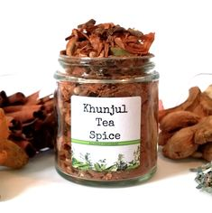 Khunjul Tea Spice, Moroccan Spiced Tea, Gourmet Spices, Gluten Free, Salt Free, Tea Gift Spice Blends, Spice Mixes, Cinnamon Chips, Spices And Herbs, Tea Gifts, Brewing Tea, Seasoning Mixes, Food Safety, Drinking Tea