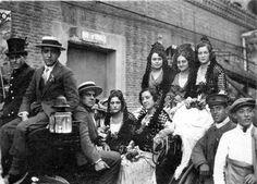 Verbena en Noviciado, 1925.