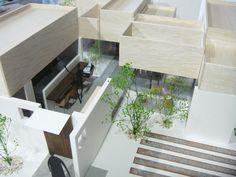 Cafe KO, Kanagawa 3d Modelle, Image Model, Diorama, Arch, Presentation, Stairs, Models, Mini, Board