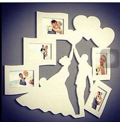 Laser cut or cnc cut bride groom photo frame dxf ai pdf eps for dow . - Geschenke - Crafts world Cnc Router, Wood Crafts, Diy And Crafts, Line Artwork, Bride Groom Photos, Scroll Saw Patterns, Laser Engraving, Cricut Design, Laser Cutting