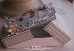 Box part 2 Magnolia Stamps, 3d Paper Crafts, Magnolias, Greeting Cards, Gift Wrapping, Children, Stamping, Blog, Handmade