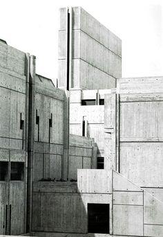 Grenoble Architecture School Grenoble  France  1976 Architect: Roland Simounet and Michel Charmont