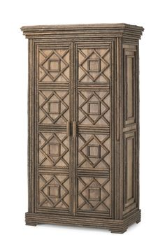 Rustic Armoire 2046 from La Lune Collection