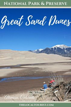Great Sand Dunes National Park and Preserve is the quietest National Park in the United States and a perfect representation of a cyclical environment. North America Destinations, Travel Destinations, Us National Parks, The Dunes, United States Travel, Travel Inspiration, Travel Ideas, Travel Tips, Where To Go