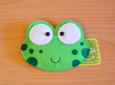 Phine the Frog Purse by lovelia on Etsy, $16.00