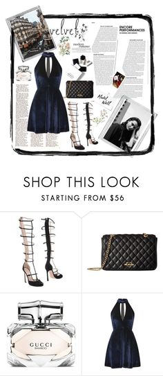 """""""Untitled #33"""" by kristy-mak ❤ liked on Polyvore featuring Giambattista Valli, Love Moschino, Polaroid, H&M, WALL and Oh My Love"""