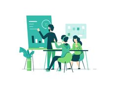 Working Closely Together by Zazuly Aziz - Dribbble
