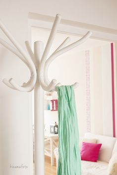 home staging: pink, menta, white