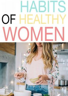 health habits Healthy women know that being healthy isnt something that just happens, its a series of habits all put together that make up your overall health. Check out these habits of healthy women and see which ones you can add into your life. Health Tips For Women, Health And Fitness Tips, Health And Nutrition, Health And Wellness, Women Health, Wellness Tips, Personal Wellness, Fitness Hacks, Fitness Plan