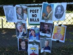 Post no bills...