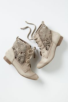 "Irene Lace Booties - Anthropologie.com This is killing me. ""You might also like..."" YES ANTHROPOLOGIE I UNDERSTAND. YOU CAN READ MY MIND. AND YOU TORTURE ME WITH YOUR ACCURATE CONSUMER ANALYSES!!"