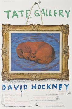 Little Stanley Sleeping by David Hockney