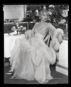 Carole Lombard in fashion. Chapter I: lamodeillustree