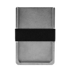 Machined aluminum wallet